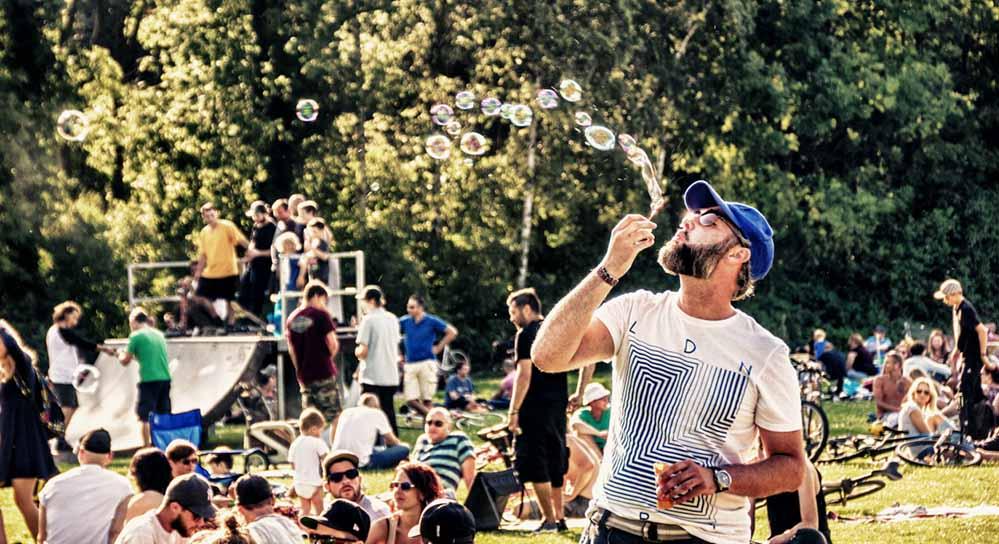Acht Summersounds-DJ-Picknicks wird es in diesem Jahr in Dortmund geben. Foto: Wolfgang Strausdat