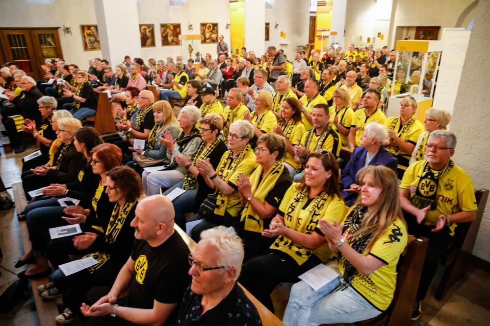 Gut besucht war der ökumenische BVB-Gottesdienst in der Dreifaltigkeitskirche.