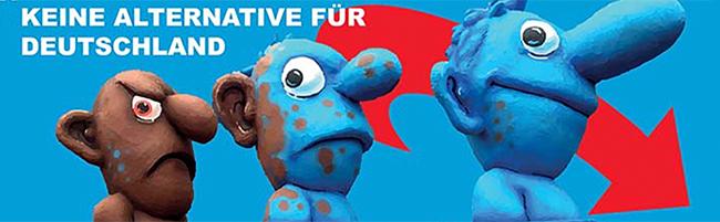 """Ausstellung """"Arm der Bewegung"""" von pro-Dortmund e.V. und VVN-BdA beleuchtet die Entwicklungen in der AfD"""