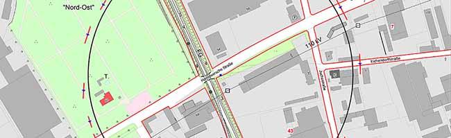 Bombenentschärfung an der Hannöverschen Straße: Anwohner, Firmen und Geschäfte von Evakuierung betroffen