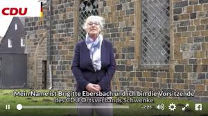 Mit einem Mobilisierungsvideo warb der vermeintliche CDU-Ortsverein für die Petition.
