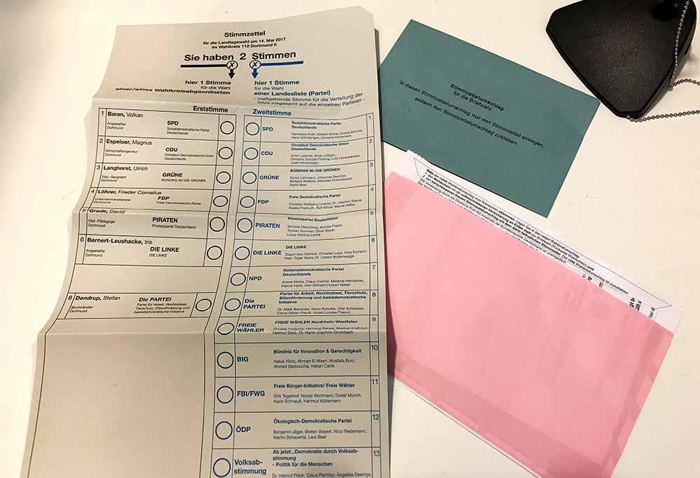 In acht von 386 Stimmbezirken in Dortmund kam es zu Falschauszählungen zu Lasten der AfD.