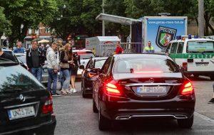 Mehr als 100 Fahrzeuge wurden auf dem Wallkontrolliert.