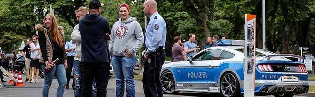 Am Tag der Verkehrssicherheit: Polizei-Einsatz gegen Raser und illegale Rennen auf dem Wallring in Dortmund