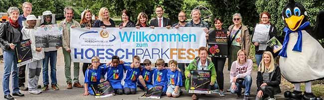 Internationale Woche: Das Hoeschparkfest feiert die Geburtstage vom Freibad Stockheide und der Dampflok Nr. 16