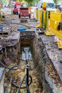In elf Nordstadt-Straßen werden ab Montag Gas- und Wasserleitungen erneuert.