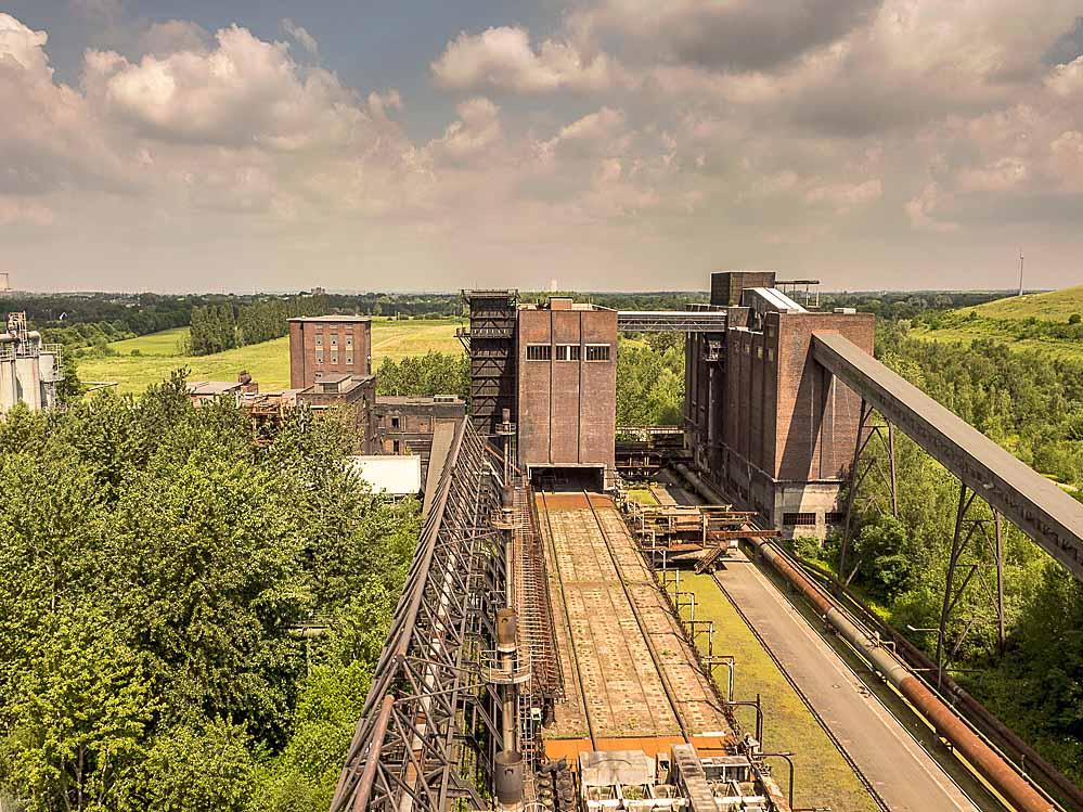 Kokerei Hansa - Blick vom Kokslöschturm