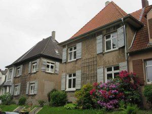 Die Zechensiedlung in Oberdorstfeld. Foto: Katrin Pinetzki/ Stadt Dortmund