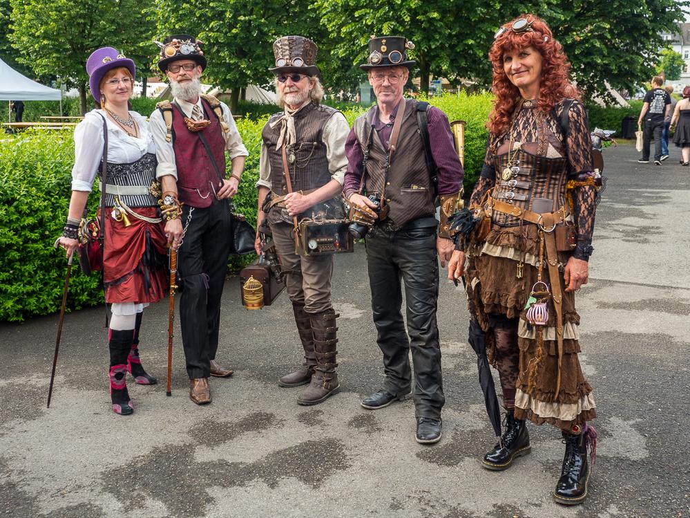 Noch bis Montag läuft das Steampunk-Festival in Bövinghausen. Bilder: Roland Klecker/dofoto.de