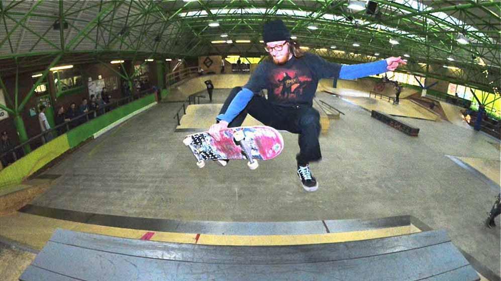 Seit über zehn Jahren ist die ehemaligen Eishalle eon reiner Skatepark.