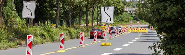 Impressionen von der Westfalenhütten-Baustelle – Kanalbau an der Brackeler Straße geht ab heute in die nächste Runde