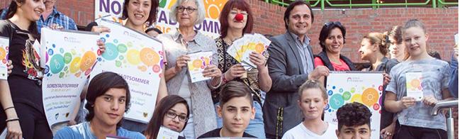 """""""Nordstadt-Sommer"""" 2017 mit Zirkuszelt, Gospelmusik und Live-Musik im und um das Dietrich-Keuning-Haus"""