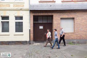 Rundgang durch die Nordstadt von Dortmund.