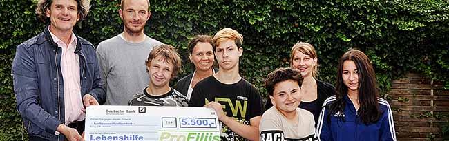 """Die Stiftung """"ProFiliis"""" ermöglicht der Lebenshilfe in Dortmund ein vielseitiges Freizeit- und Ferienprogramm"""
