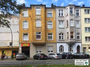 Das sogenannte Solidaritätshaus des Vereins DayEv in der Uhlandstraße.