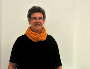 Sprachtherapeutin Elisabeth Richter in ihrer Praxis in der Missundestraße.