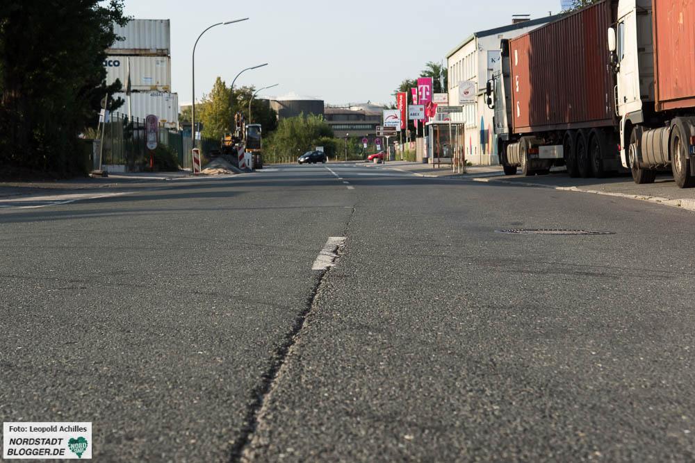 Der vierte und letzte Abschnitt der Kanalstraße soll nun erneuert werden.