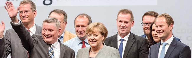 CDU-Wahlkampfauftakt mit Angela Merkel und dem Versprechen eines sozialeren Deutschlands in Dortmund