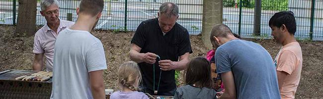 """In Dortmund entsteht ein neues Naturerlebnis für Kinder: """"Tandem""""-Projekt richtet einen Garten im Unionviertel ein"""