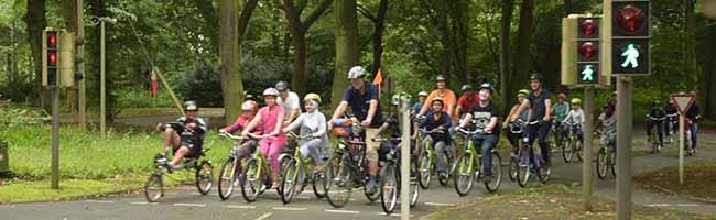 ADFC-Radfahrjugend und Jugendring veranstalten 1. Dortmunder Kinder-, Jugend- und Familiensternfahrt