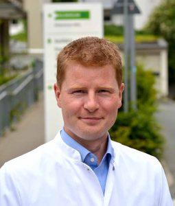 Dr. Carsten Meyer ist Direktor der Klinik für Schmerzmedizin im Klinikum Dortmund.