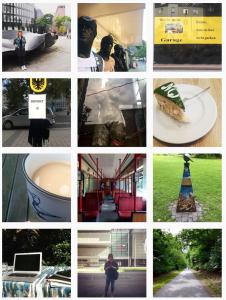 """Impressionen von Melanie Huber, die auf Instagram und Twitter unter dem Namen """"meliterature"""" postet."""