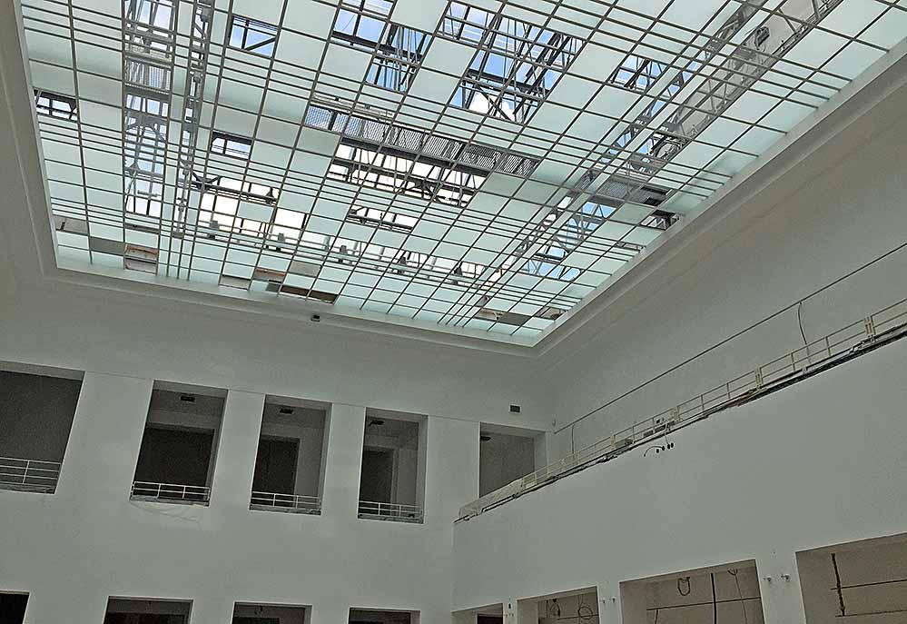 Bleibt weiter hell und luftig: die große Halle des ehemaligen Ostwallmuseums.