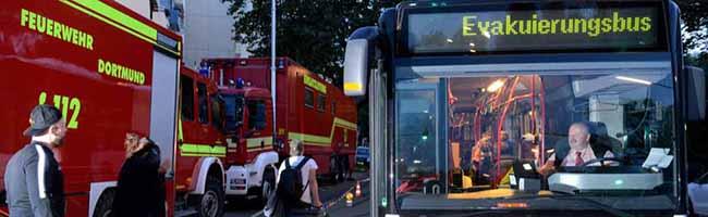 2. UPDATE: Akute Brandgefahr im Hannibal: Fast 800 Menschen verlassen ruhig ihre Wohnungen in Dorstfeld