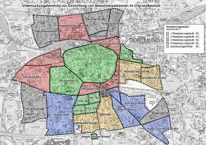 Einen vierstufigen Fahrplan hat die Planungsverwaltung für die 21 neuen Zonen vorgelegt.