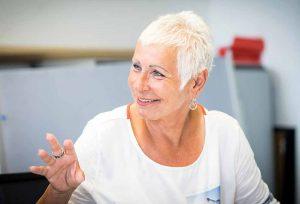 Eva Kerkemeier ist bisher 1. Bevollmächtigte der IGM Bochum-Herne.