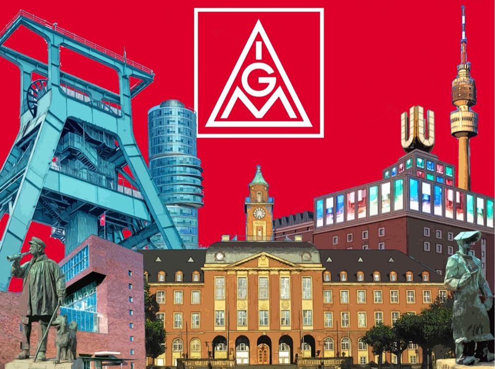Die IG Metall-Geschäftsstellen in Dortmund und Bochum-Herne wollen fusionieren.