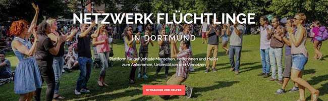Integration per Internetseite: Geflüchtete Menschen und HelferInnen bilden in Dortmund eine Redaktionsgruppe