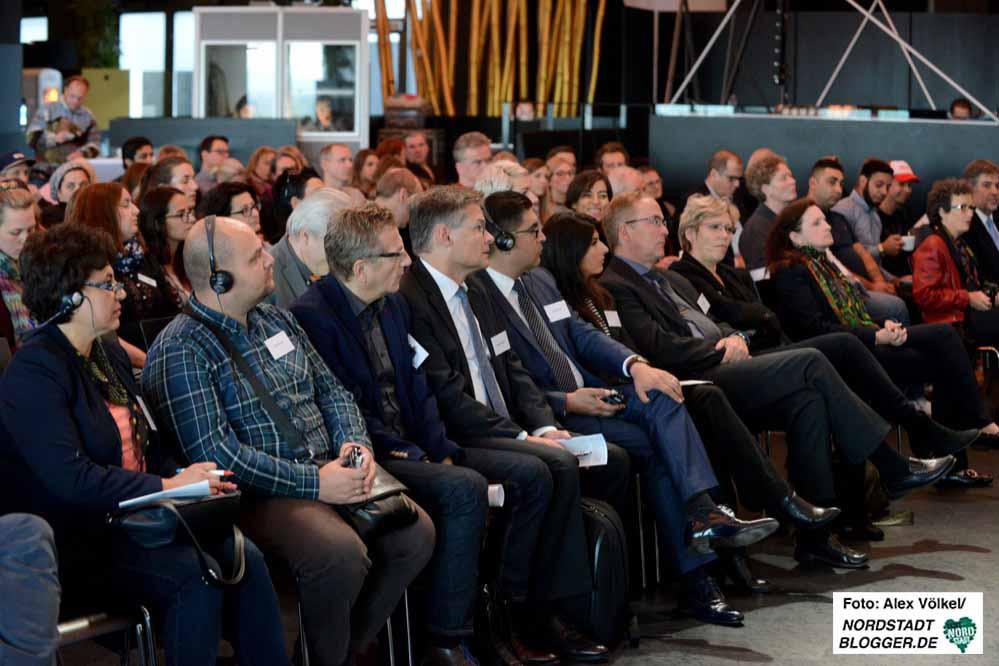 """Gut besucht war das Symposium """"Roma in Europa"""" im Dortmunder U. Fotos: Alex Völkel"""