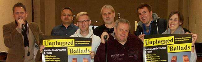 """""""Unplugged Ballads"""" in der Dreifaltigkeitskirche in Dortmund"""