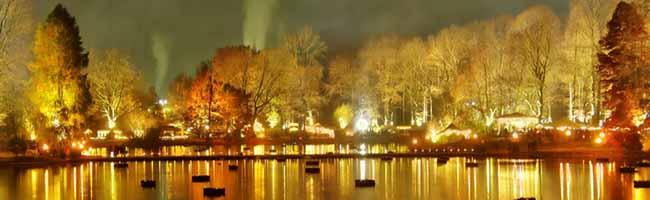 """""""Phantastischer Lichterweihnachtsmarkt"""" zum 3. Mal in Dortmund – 120 Stände und drei Bühnen im Fredenbaumpark"""