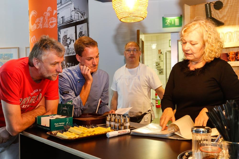 Mit Tagesgerichten in Bioqualität will das Team Gäste anlocken.
