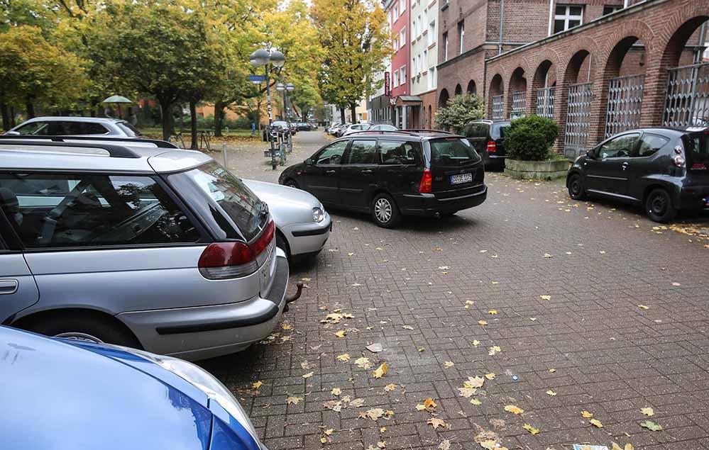 Im Bereich der Westerbleichstraße gibt es einen großen Parkdruck.