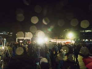 Die Channukka-Feier am Phönixsee