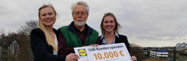 Durch Spenden der Lidl-Kunden an Leergutautomaten: Neue Photovoltaik-Anlage auf dem Dach der Tafel in Dortmund