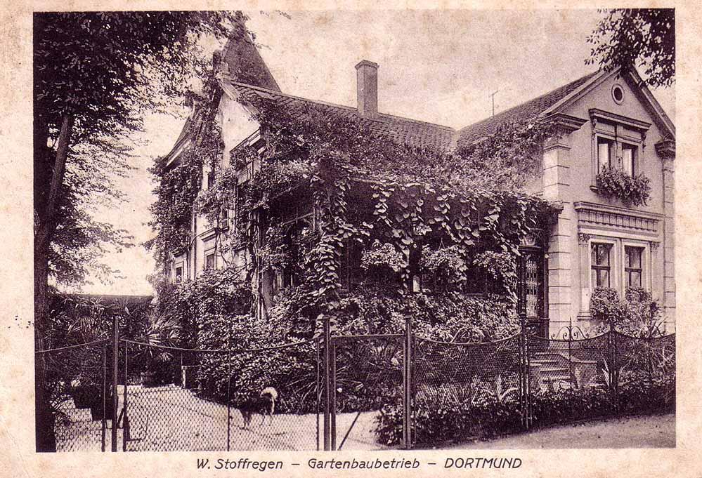 Das Wohnhaus der Familie Stoffregen an der Münsterstraße 204 in der Nordstadt (Sammlung K. Winter)