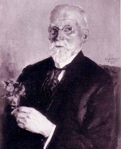 """Zu seinen Lebzeiten hatte Wilhelm Stoffregen sich von einem Maler porträtieren lassen. Abbildungen des Gemäldes befinden sich z. B. im """"Buch der alten Firmen von Groß-Dortmund"""" (1928) und in Firmendrucksachen, aber der Verbleib des Originals ist nicht bekannt."""