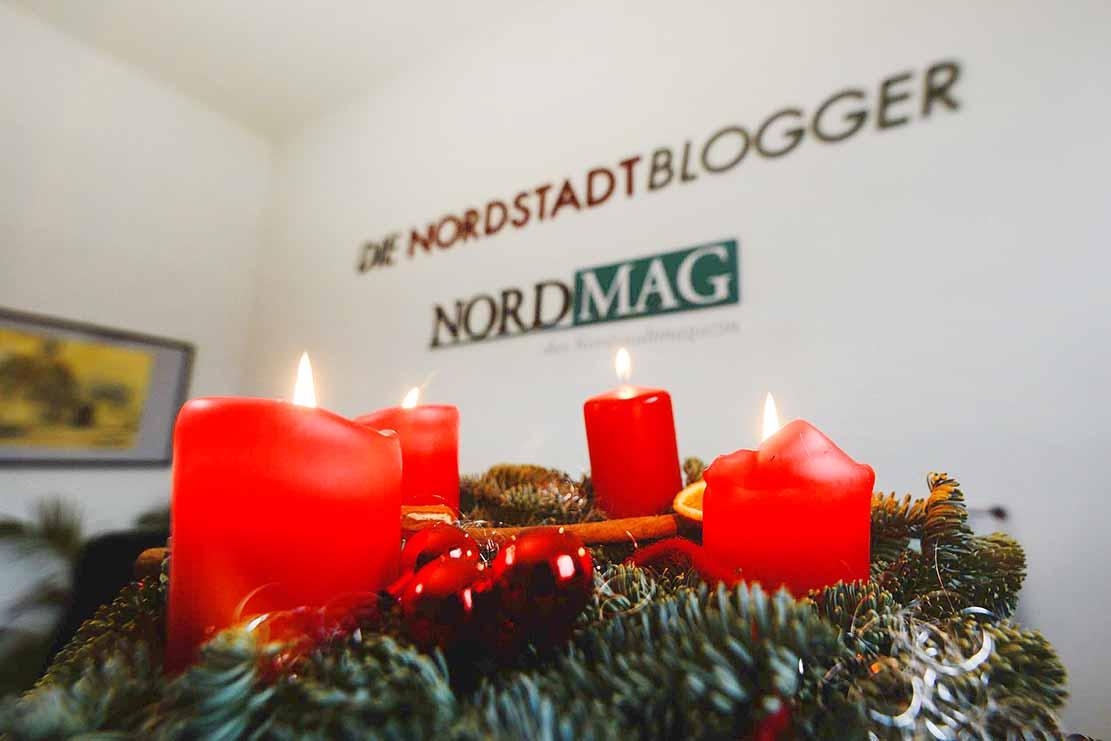 Die Nordstadtblogger wünschen allen Menschen in der Nordstadt, Dortmund und dem Rest der Welt einen schönen 4. Advent und frohe Weihnachten! Foto: Leopold Achilles