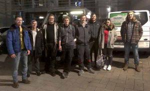 Zu ihrer dritten Tour nach Griechenland sind die Studierenden der FH Dortmund aufgebrochen.
