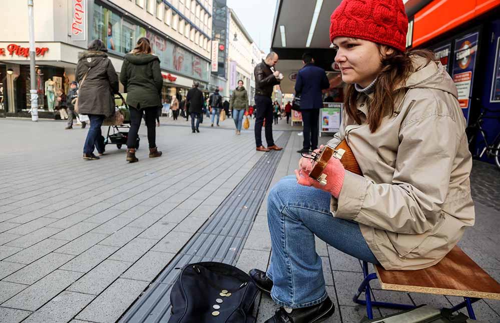 Straßenmusik Verstärker