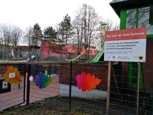 Bislang Baustelle, jetzt eröffnet: der neue Sportpark am DKH.
