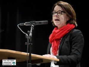 Die Landtagsabgeordnete Nadja Lüders ist auch Vorsitzende des Dortmunder SPD-Unterbezirks.