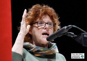 Die ehemalige Bundestagsabgeordnete Ulla Burchardt