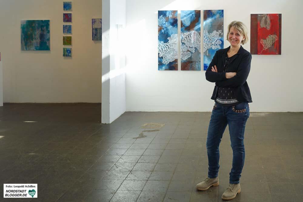 """Birgit Brinkmann-Grempel stellt im Rahmen der Reihe """"Depot stellt sich vor"""" aus."""
