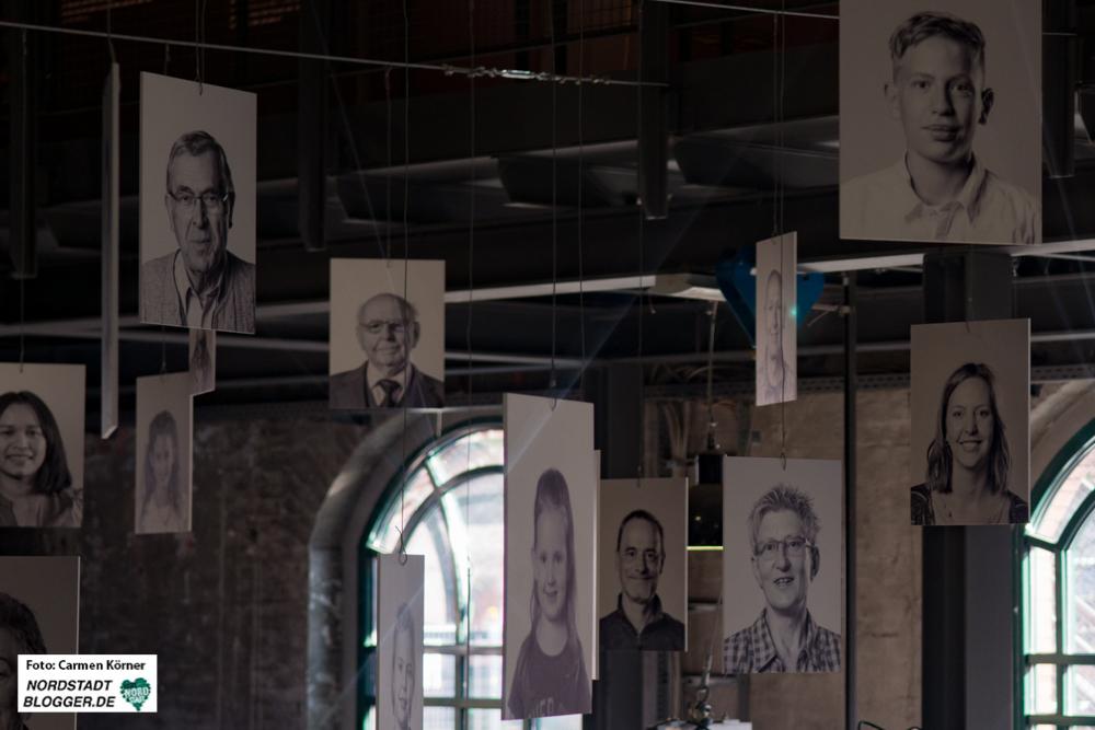 Familienportraits der Zeitzeugen sind Teil der Ausstellung RevierGestalten