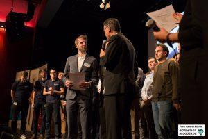 Team Refined Lasersystems als 2. Preisträger des start2grow Gründungswettbewerb.